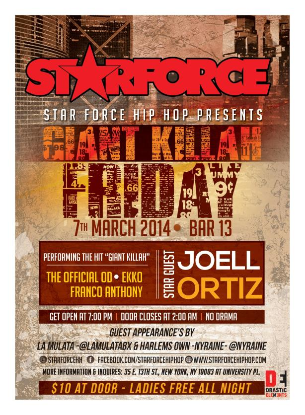 StarforceHipHop presents...