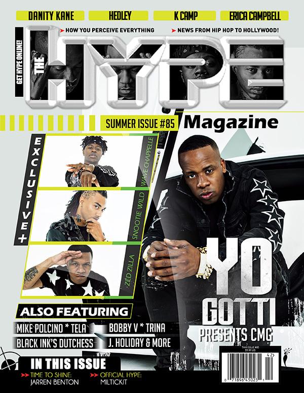 @TheHypeMagazine Issue #85 #Cover @YoGottiKOM @SnootieWild @BLMNWAVE @ZEDZILLA1