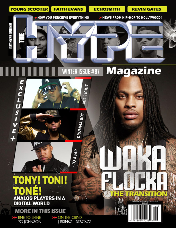 "Waka Flocka Flame is joined by the ""Three Horsemen""... Mil Tickit, Drumma Boy and DJ ASAP."